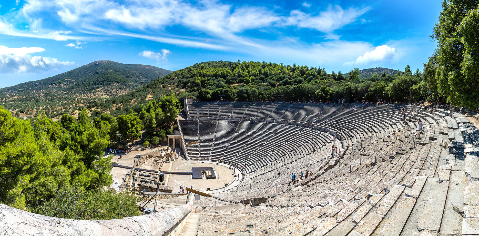 A Yacht Charter Athens - visit Epidaurus by boat