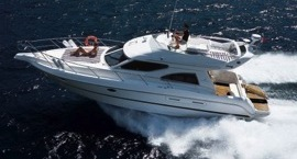 Costs of chartering a motor yacht